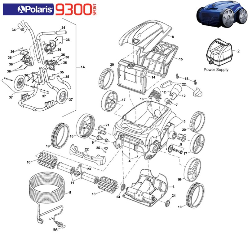 Polaris 9300 Parts